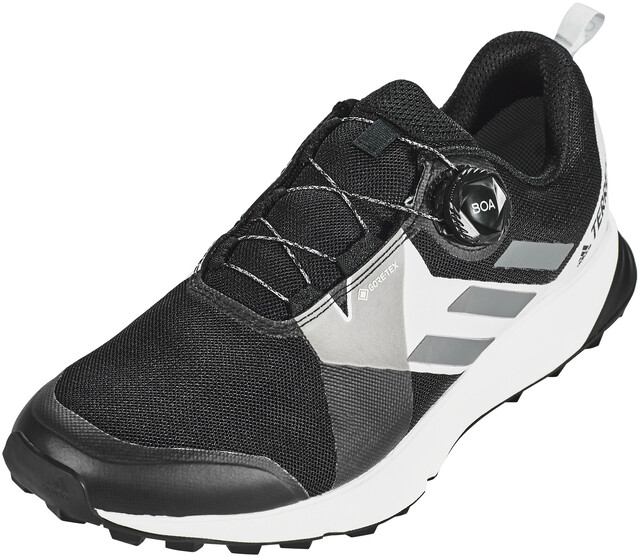adidas Terrex Two Boa Trailrunning Schuhe Herren core black grey four footwear white